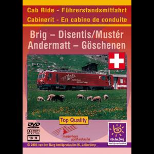 Drivers' cab ride 6 - Matterhorn Gotthard Bahn (MGB)
