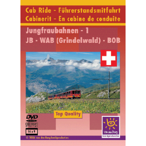 Cab Ride 11 Jungfrau Railway Part 1
