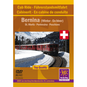 Bernina Winter Cab Ride