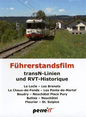 PE154. transN-Linien und RVT-Historique