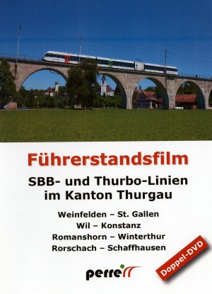 SBB and Thurbo lines in the canton of Thurgau