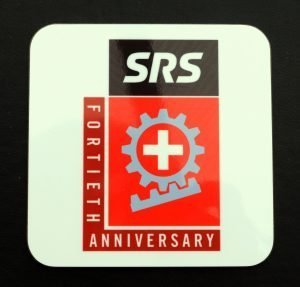 SRS Anniversary Coaster