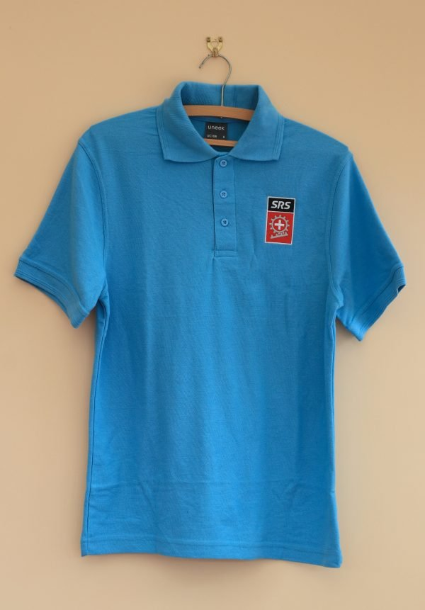New Blue Polo Shirt