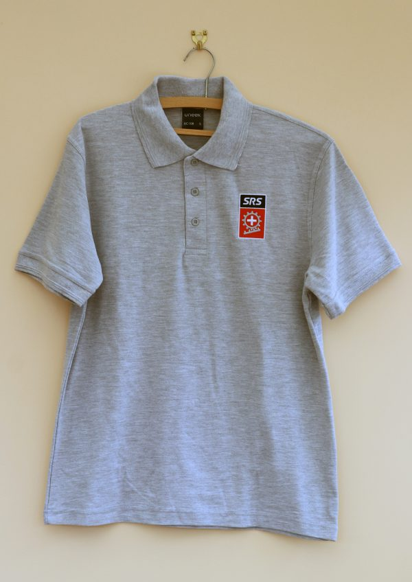 New Grey Polo Shirt