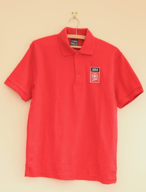 New Red Polo Shirt